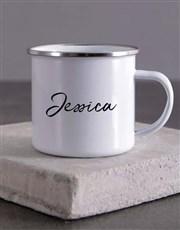 Personalised Instant Human Camper Mug