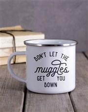 Personalised Muggles Camper Mug