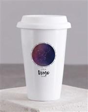 Personalised Star Sign Ceramic Travel Mug