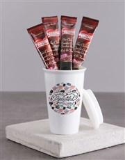 Personalised Beautiful Mom Ceramic Travel Mug