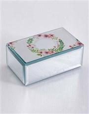 Personalised Floral Wonder Trinket Box