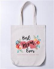 Personalised Best Mom Tote Bag