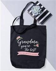 Personalised Best Gran Tote Bag