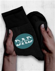 Personalised Best Dad Socks