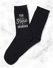 Personalised 3 Pair Socks Box Grandad