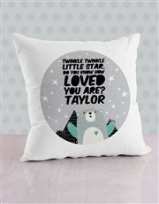 Personalised Loved Scatter Cushion
