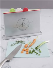 Personalised Name Divided Chopping Board