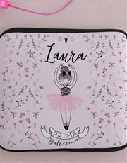 Personalised Neoprene Ballerina Tablet Cover