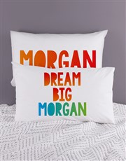 Personalised Dream Pillow Case Set