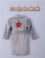 Personalised Twinkles Fleece Gown