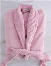 Personalised Best Mom Vintage Pink Fleece Gown