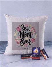 Personalised Best Mom Scatter Cushion
