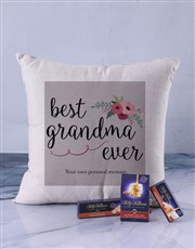 Personalised Best Gran Scatter Cushion