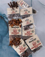 Personalised Best Dad Biltong Crate