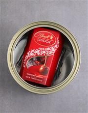 Personalised Survival Kit Biltong Tin With Chocs