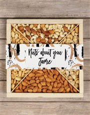 Personalised Brush Strokes Nut Crate