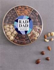 Personalised Rad Dad Nut Tray