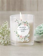 Personalised Mothers Day Candle