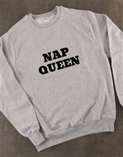 Personalised Type of Queen Ladies Sweatshirt