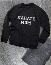 Personalised Activity Mom Sweatshirt