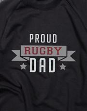Personalised Proud Dad Sweatshirt