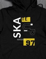 Personalised Year Skate Hoodie