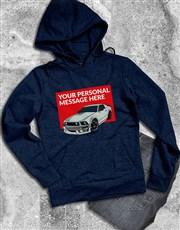 Personalised Sports Car Hoodie