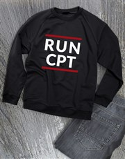 Personalised Modern Run Sweatshirt