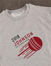 Personalised Cricket Sweatshirt