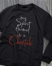 Personalised Spirit Animal Ladies Sweatshirt