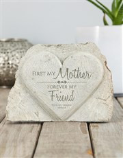 Personalised First My Mother Stone Heart