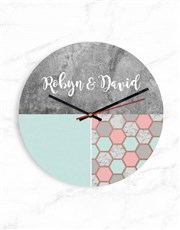 Personalised Shapes Clock