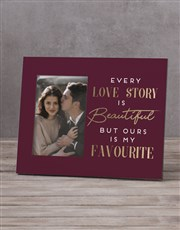 Personalised Every Love Story Photo Frame
