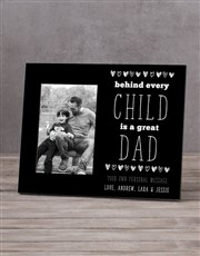 Personalised Behind Every Child Photo Frame