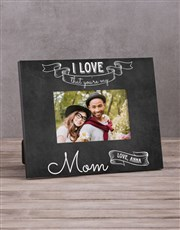 Personalised My Mom Photo Frame