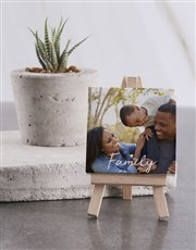 Personalised Family Mini Canvas