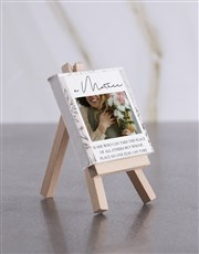 Personalised A Mother Mini Canvas
