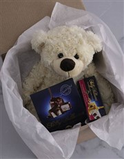 Personalised Birthday Teddy and Nougat Gift