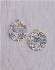 Personalised Bone ID Tag and Collar