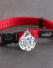 Personalised ID Tag and S Collar