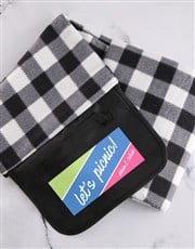 Personalised Lets Picnic Blanket