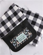 Personalised Alpaca Lunch Picnic Blanket