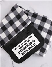 Personalised Man Mat Picnic Blanket