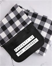 Personalised Property Of Picnic Blanket