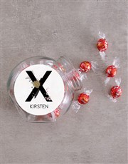 Personalised Abstract Candy Jar