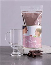 Personalised Best Mom Hot Chocolate Tin