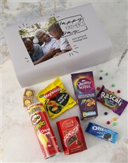 Personalised Fathers Day Photo Gourmet Box