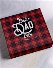 Personalised Best Dad Ever Gourmet Hamper