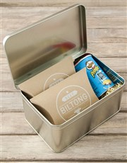 Personalised Super Duper Dad Snack Tin