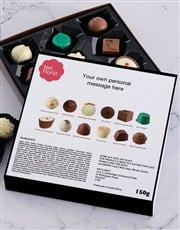 Personalised Good Luck Chocolate Tray